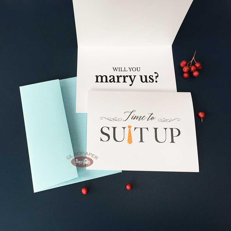 Mariage - Will you Marry Us card Priest Deacon card Will you be our officiant card funny Wedding officiant proposal card Wedding card Officiant gift