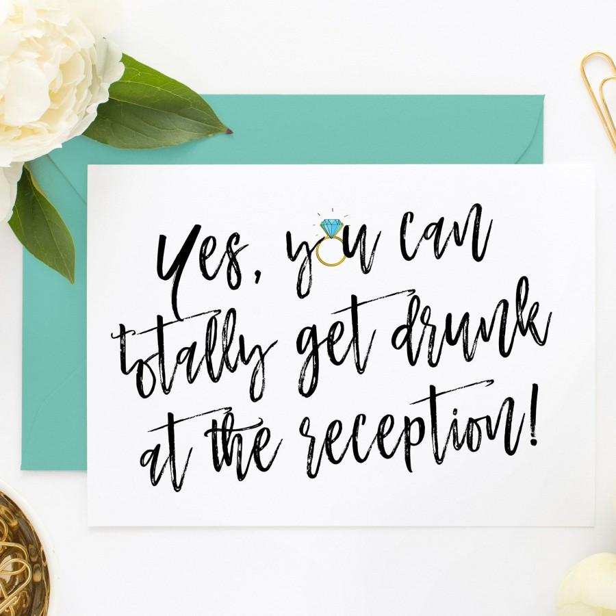 Wedding - Funny Bridesmaid Proposal, Bridesmaid Invites, Funny Maid of Honor Card for Bridesmaid Box, Proposal Box, Will You Be My Bridesmaid (YYCTG3)