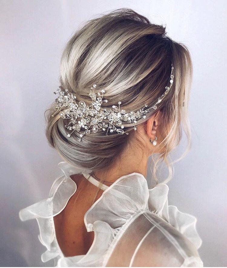 Свадьба - Crystal Bridal Hair Piece Wedding Hair Accessories Bridal Hair Vine Bridal Hair Clip Wedding Headpiece Wedding Hair Piece Bridal Hair Pieces