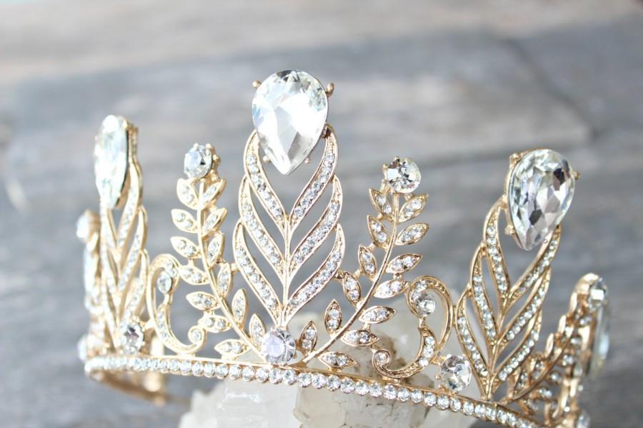 Wedding - Tiara Bridal Tiara - BRIAR, Swarovski Bridal Tiara, Crystal Wedding Crown, Rhinestone Tiara, Wedding Tiara, Diamante Crown