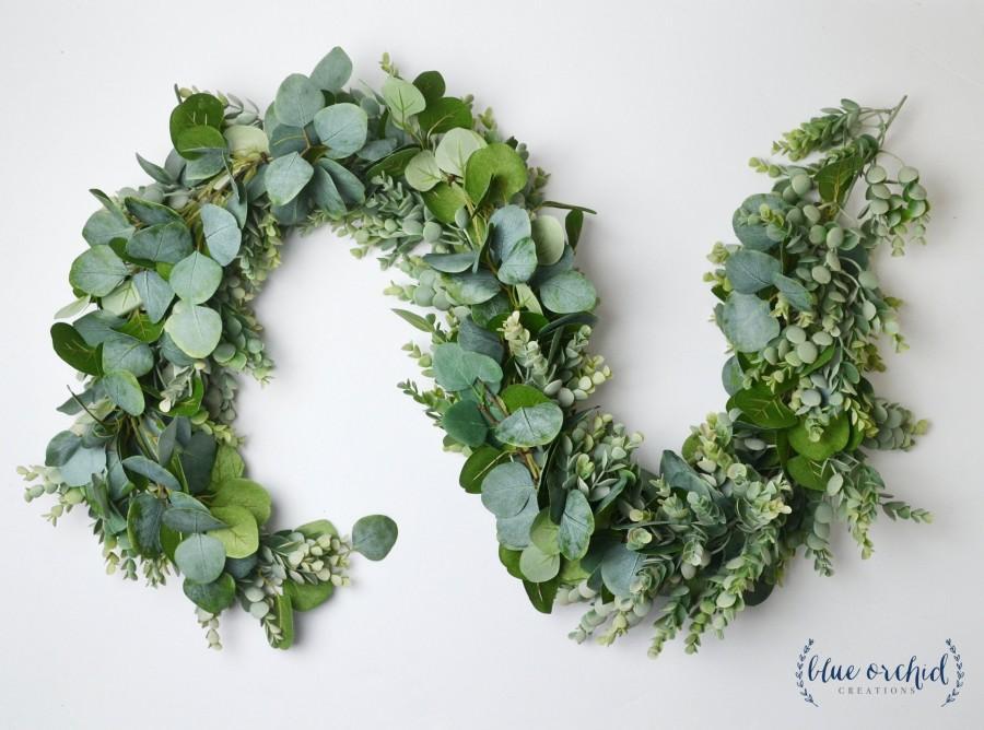 Wedding - Eucalyptus Garland, Wedding Garland, Wedding Flowers, Greenery Garland, Wedding Backdrop, Greenery Backdrop, Photo Booth, Boho Wedding
