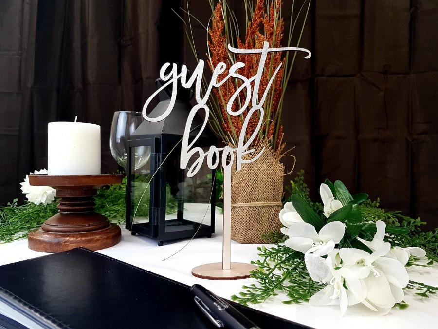 Wedding - Pearl White Guest Book Sign