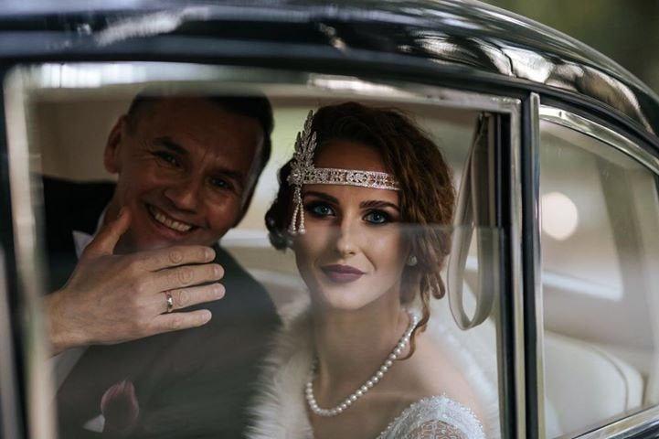 زفاف - Glamour Rhinestone flapper Gatsby Headband, Chain 1920s Gatsby Wedding Crystal Headband Headpiece, Bridal Headpiece, 1920s Flapper headband