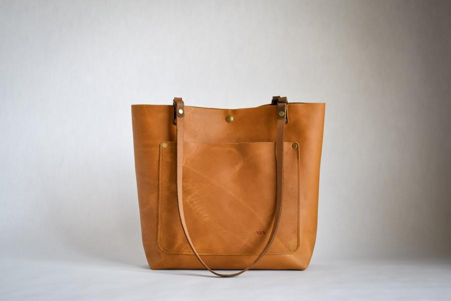 Mariage - Leather Tote Bag