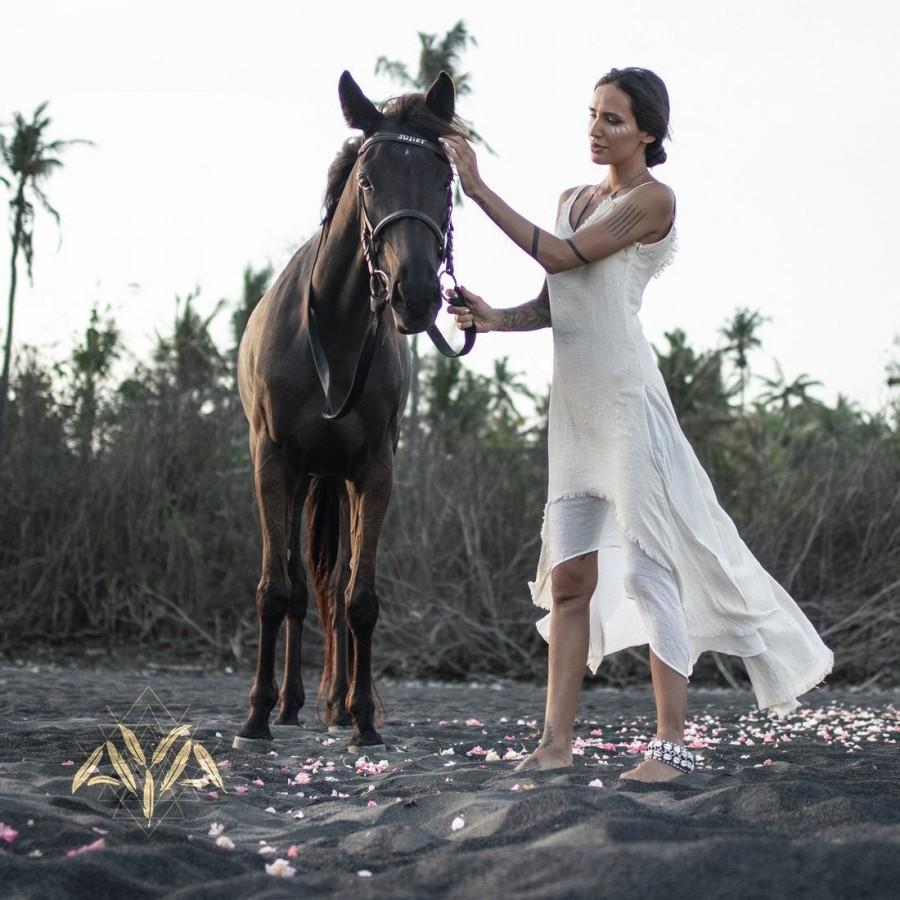 Off White Organic Cotton Boho Bohemian Wedding Dress Long Maxi Fairy Gypsy Goddess Dress Simple Modest Beach Wedding Dress Bridesmaid 2951021 Weddbook,Plus Size Older Bride Wedding Dresses