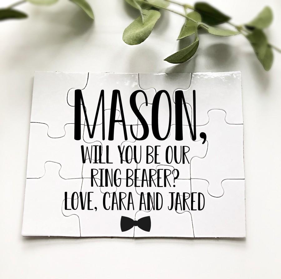 زفاف - Ring Bearer Proposal-Ring Bearer Puzzle-Will You Be My Ring Bearer-Ring Bearer-Ask Ring Bearer-Ring Bear Proposal Puzzle-Puzzle Proposal