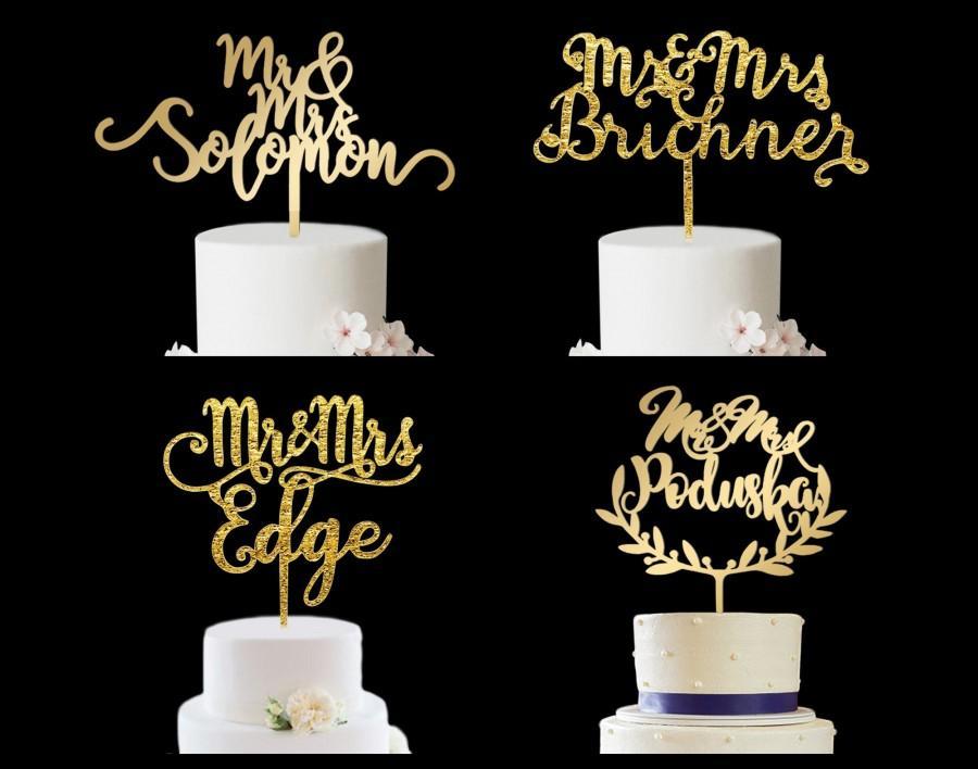 زفاف - Wedding Cake Topper, Mr and Mrs Wedding Cake Topper, Custom Cake Topper for Wedding, Wedding Cake Topper, Wedding Cake Toppers, Cake Topper