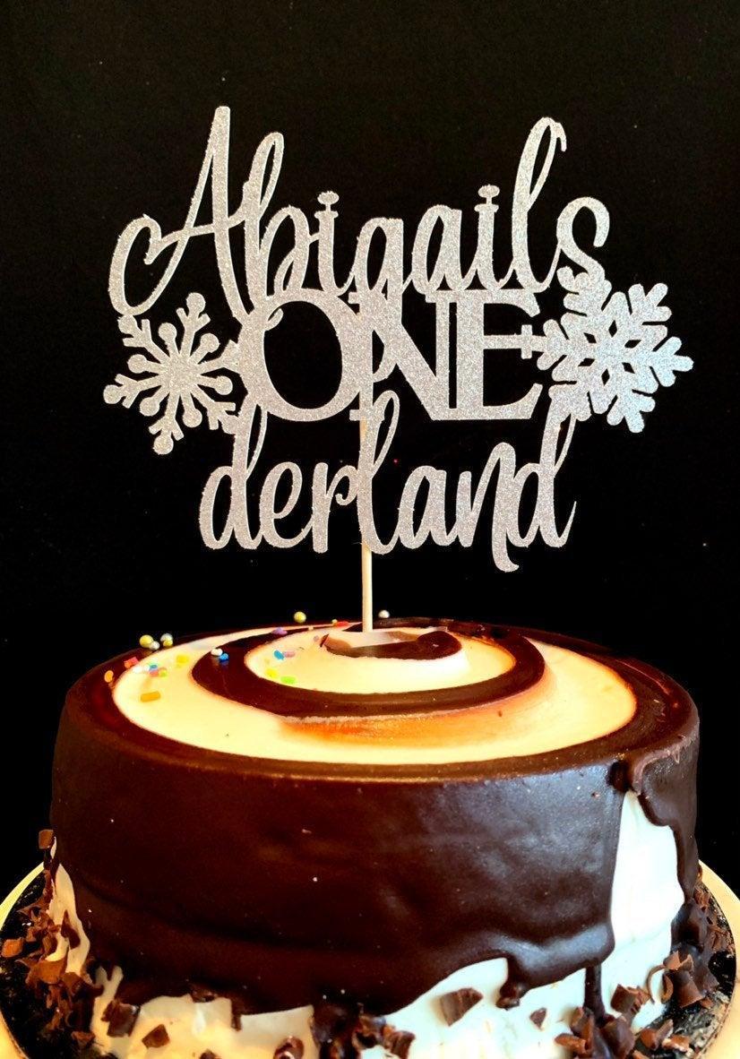 زفاف - Winter Onederland cake topper, Onederland party, Winter wonderland decorations, Winter onederland party, snowflake, wonderland, 1st birthday
