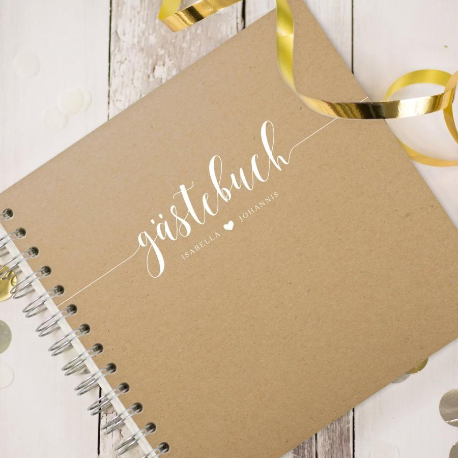 "Свадьба - Guestbook Wedding ""Malaga""-Personalized"