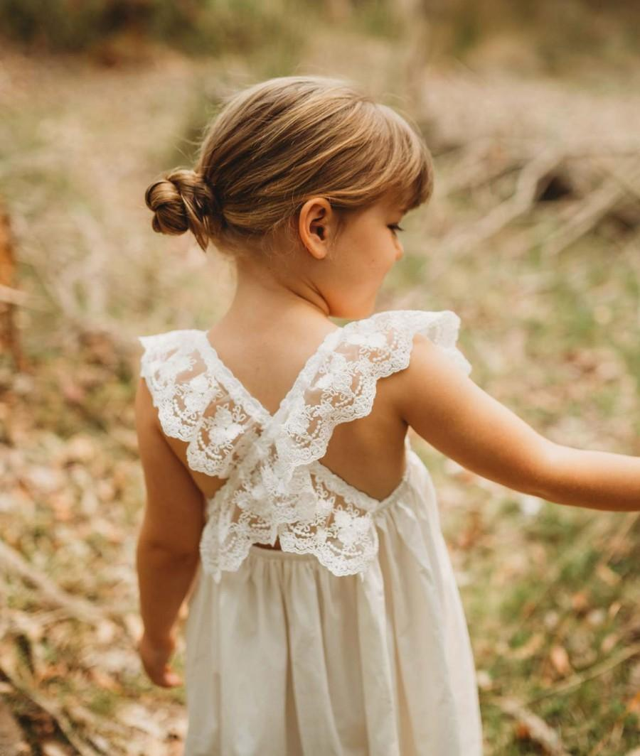 Свадьба - Layla - Lace Flower Girl Dress
