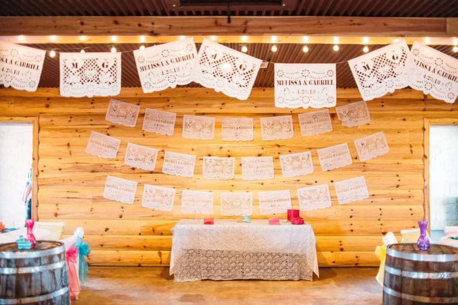 Свадьба - Personalised Wedding Banners & Flag Favours With Names, Wedding Date + Initials