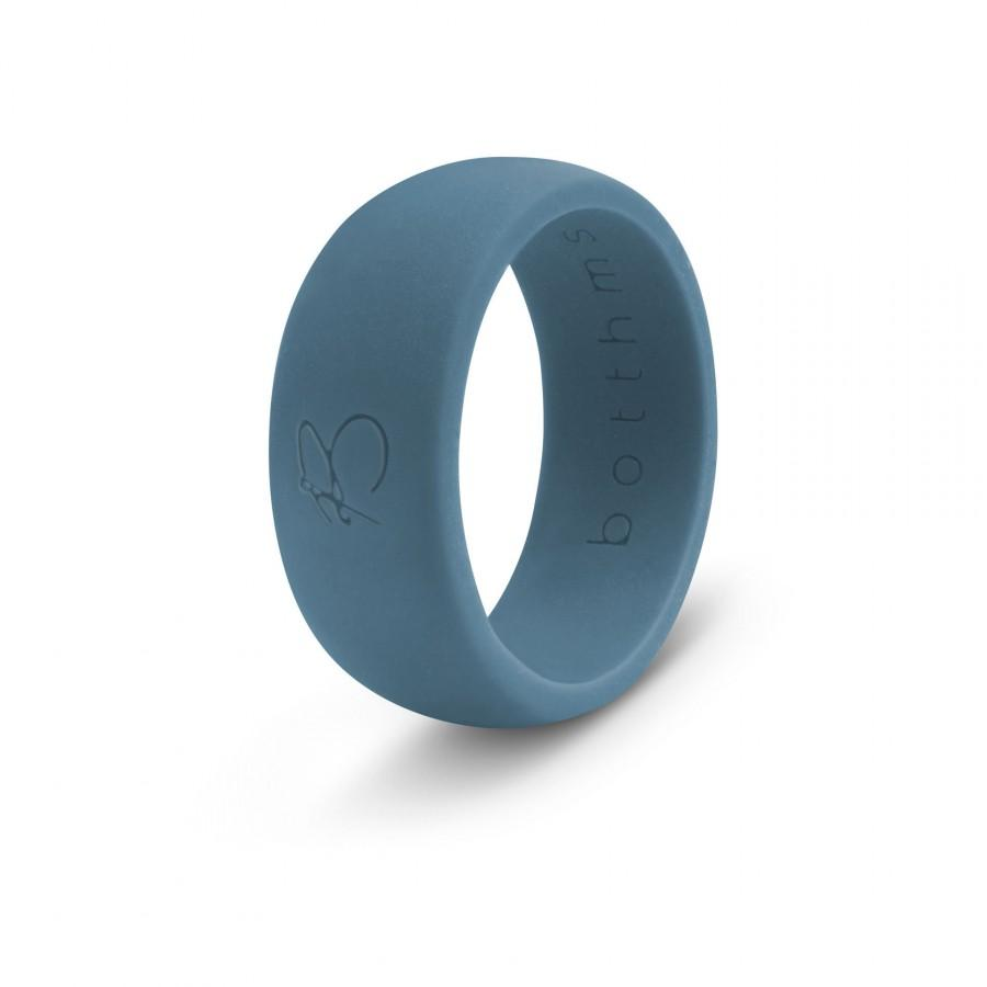 Wedding - botthms Teal Silicone Wedding Ring for Men