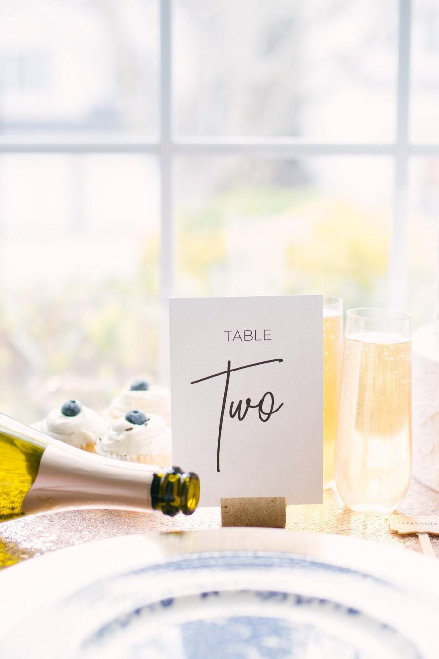 Hochzeit - Wedding Table Numbers, For Wedding Tables, Table Numbers Black and White, Table Number Ideas, Table Numbers Printed, Engagement Cards