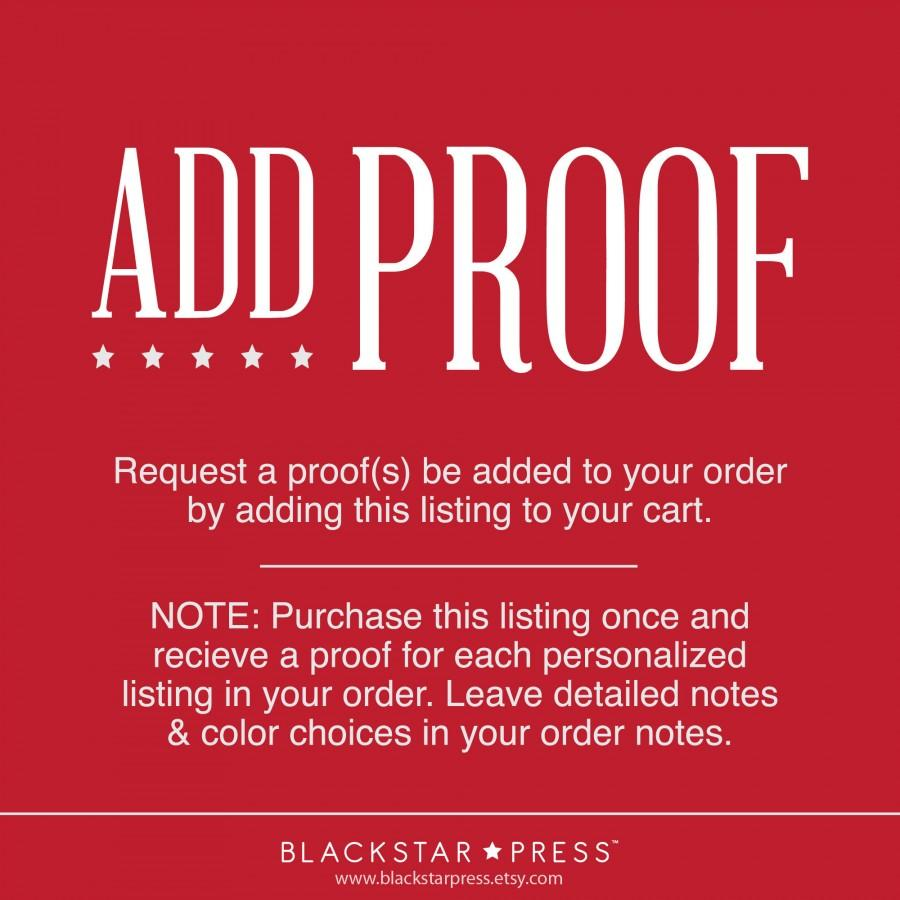 Свадьба - Add a digital proof to your order.