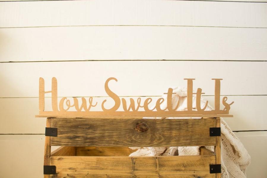 Hochzeit - How Sweet It Is