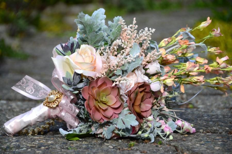Wedding - SUCCULENT BOUQUET