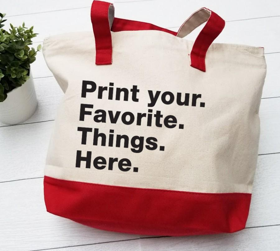Mariage - Custom Tote bags, Personalized Tote Bags, Bridesmaid Gift Bags, Personalized Business bag, 4 Words Totes Bags, Printed Tote Bags, Totes bags