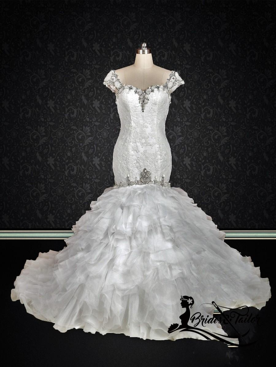 Mariage - Sexy Mermaid Wedding Dress