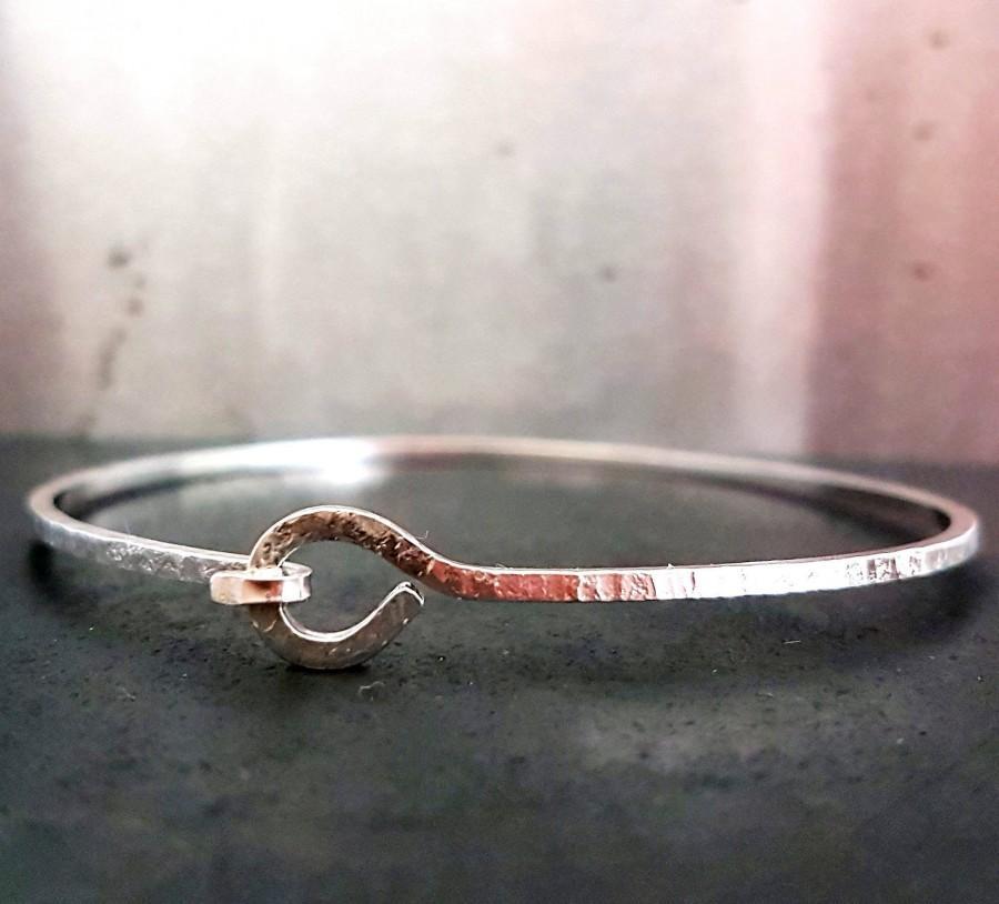 Свадьба - Silver Knotted Bracelet