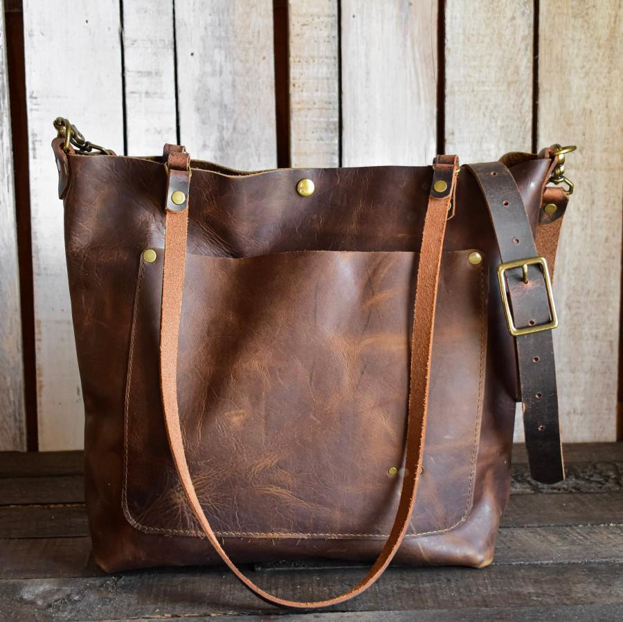 زفاف - Limited Edition Leather Tote Bag