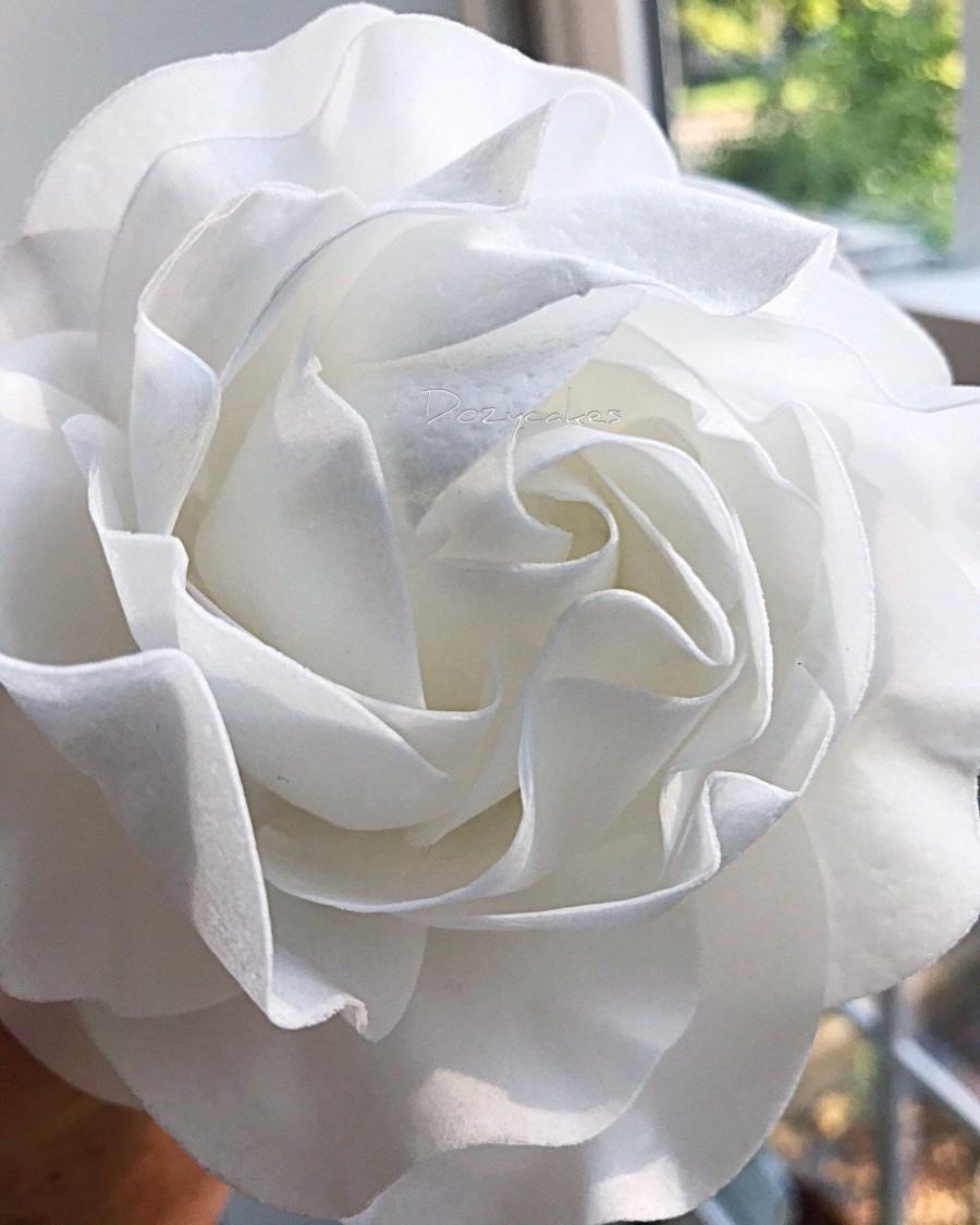 Hochzeit - Heirloom Wafer Paper Rose
