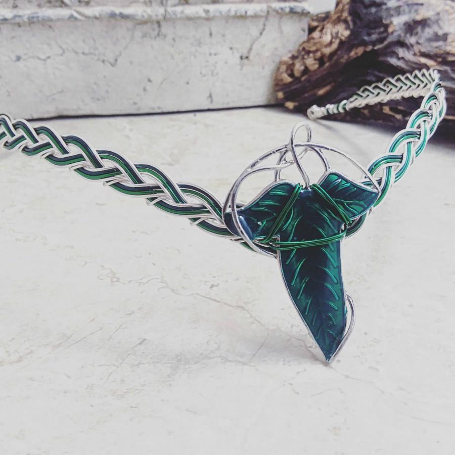 Mariage - Elven Leaf Circlet Tiara Crown  Leaves of Lorien
