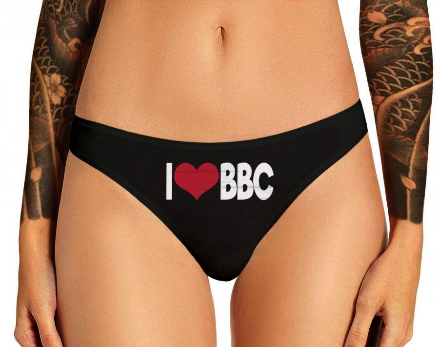 Wedding - I Love BBC Panties Queen Of Spades Black Cock Slut Queen Of Spades Big Black Cock Panties BBC Womens Thong Panties