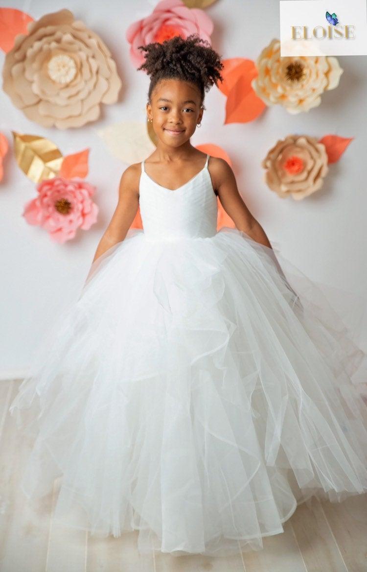 Mariage - Princess Ball Gown Flower Girl Dress