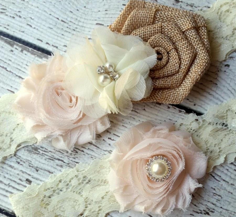 Vintage Garter Ivory Keepsake /& Toss Wedding Garter Garder Chiffon Flower Rhinestone Lace Garters VINTAGE PINK Bridal Garter Set
