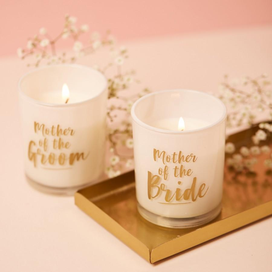 Mariage - Mother of the Groom Candle, Mother of the Groom Gift, Mother of the Groom Present, Wedding Gift