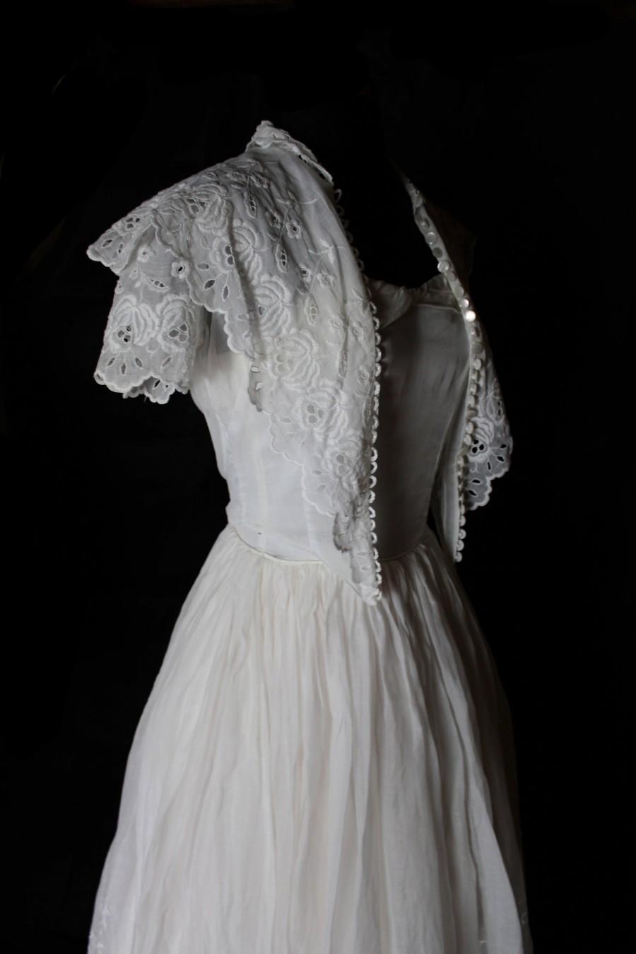 Mariage - Vintage Wedding Dress