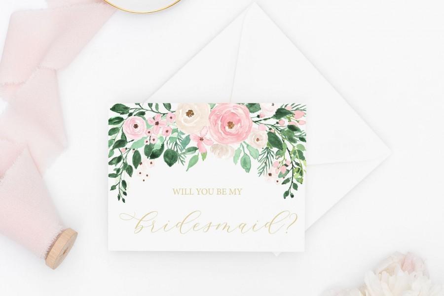 زفاف - Will You Be My Bridesmaid Card - Bridesmaid Proposal - Bridal Party Card - Bridesmaid Proposal Card - Maid of Honor Card - Bridesmaid Gift