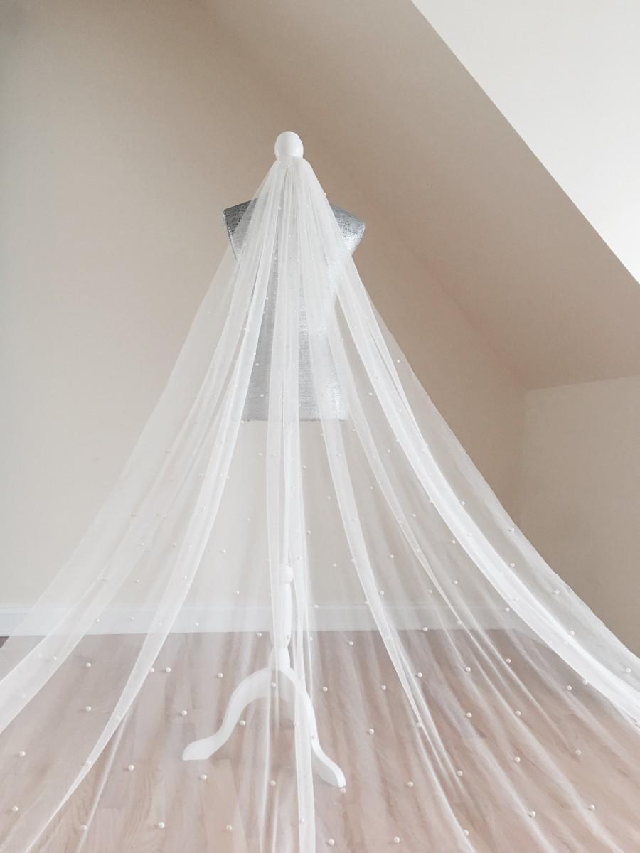 Свадьба - SALE Pearl Veil