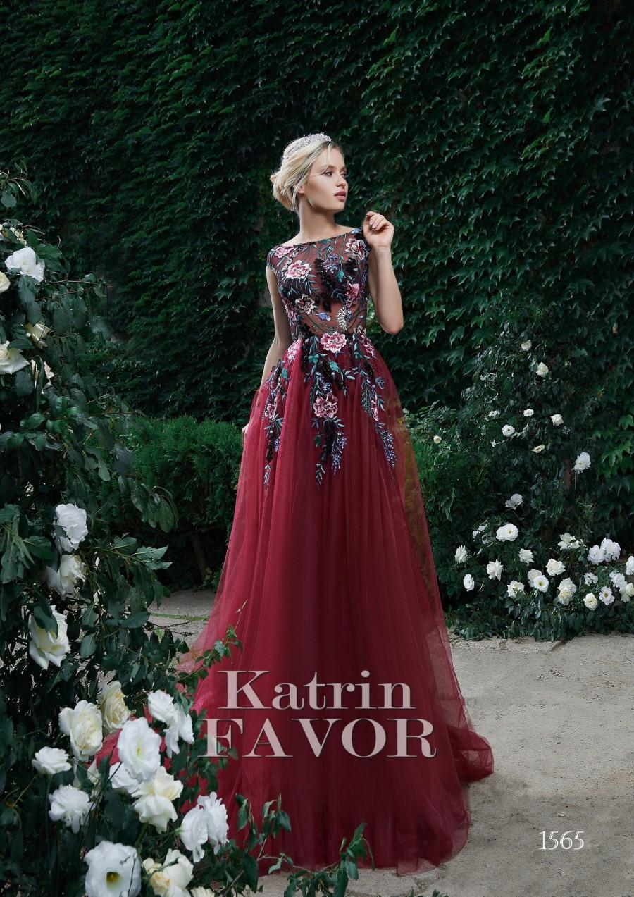 زفاف - Embroidered Dress Floral Dress Tulle Dress Women Prom Dress Long Evening Gown Lace Dress Formal Dress Plus Size Maxi Wedding Guest Dress