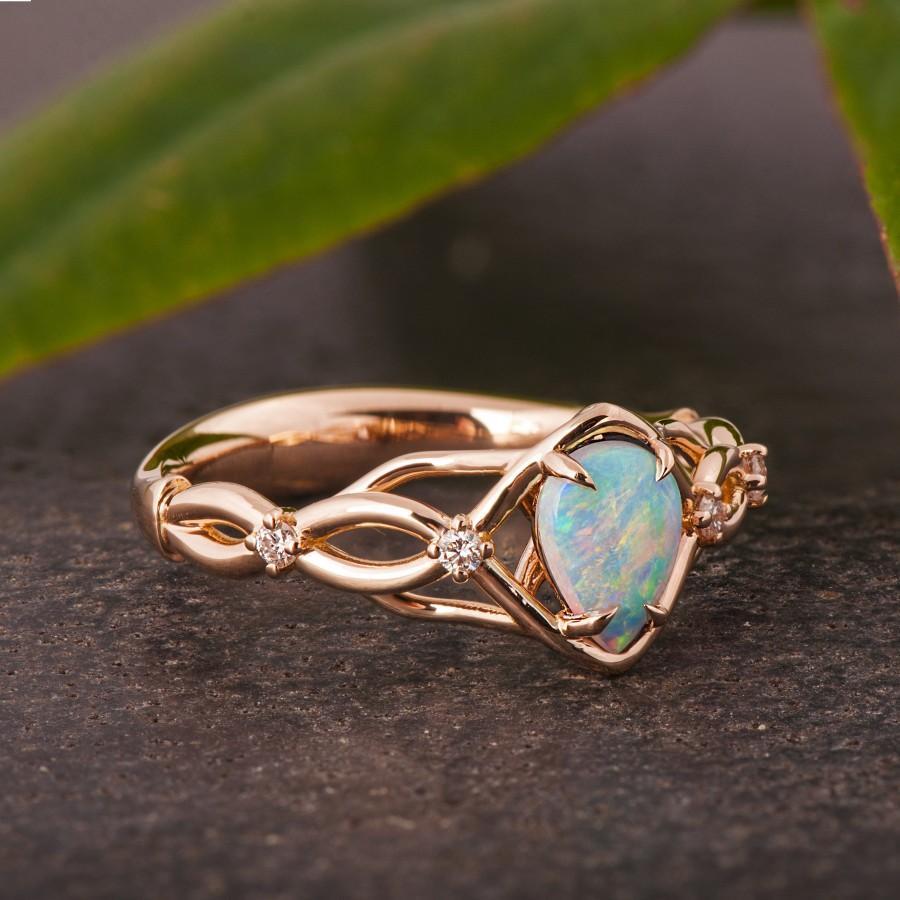 Свадьба - Opal Engagement Ring