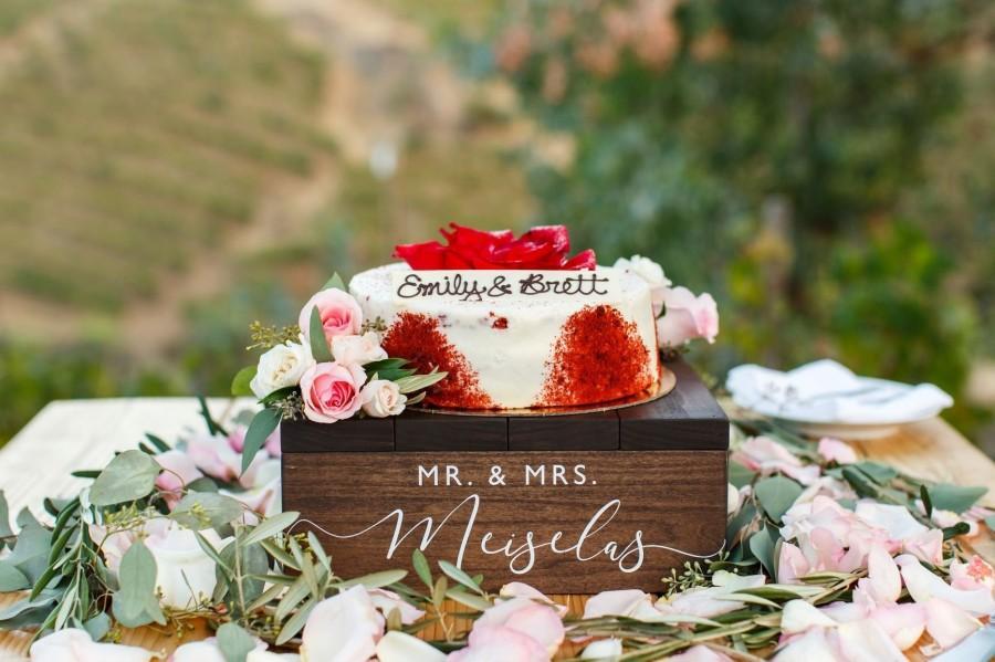 Mariage - Rustic Wedding Cake Stand