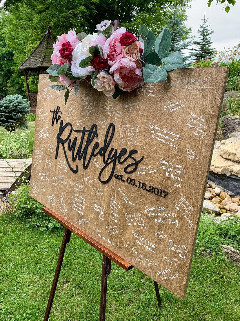 Mariage - Guestbook alternative