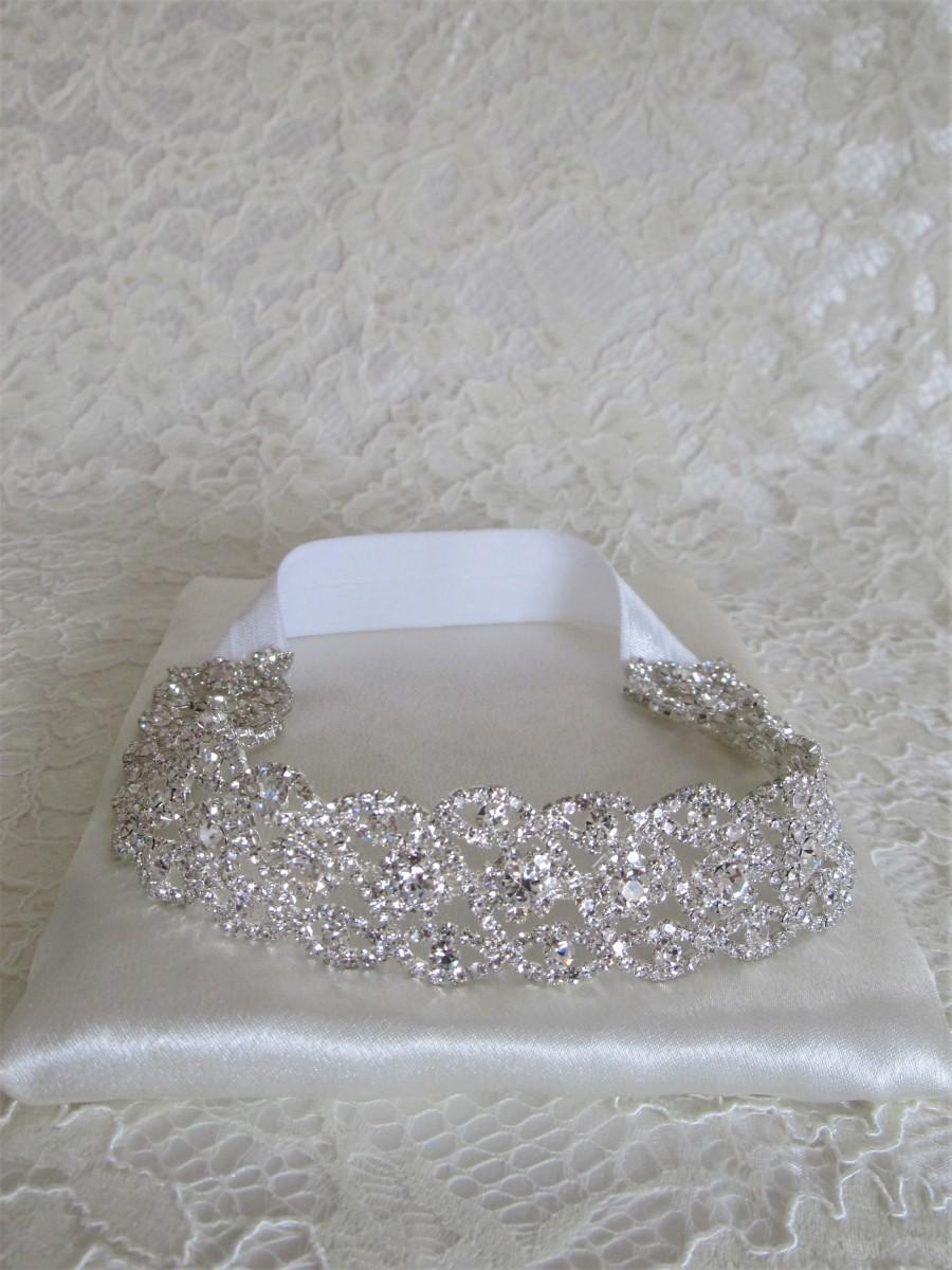 زفاف - Silver Crystal Rhinestone Bridal Garter,Wedding Garter,Bridal Accessories,Style #G16