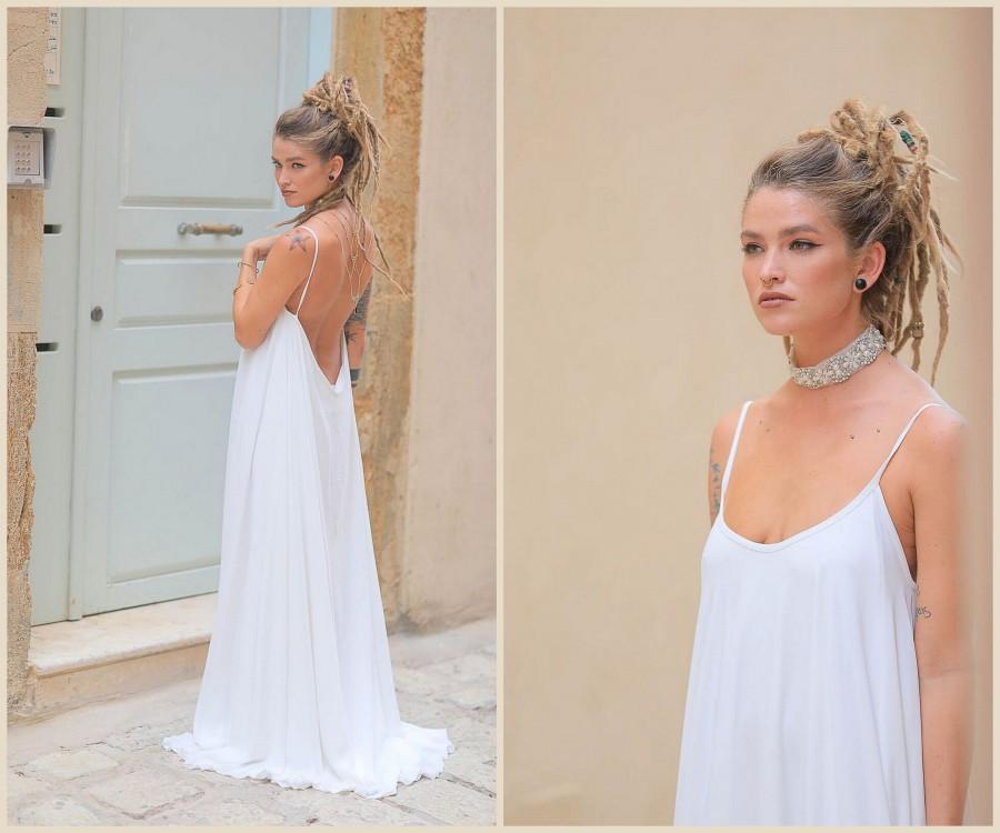 Chiffon Wedding Dress Bridal Gown Off White Wedding Dress Casual Wedding Dress Simple Wedding Dress Ivory Wedding Dresses 2956668 Weddbook