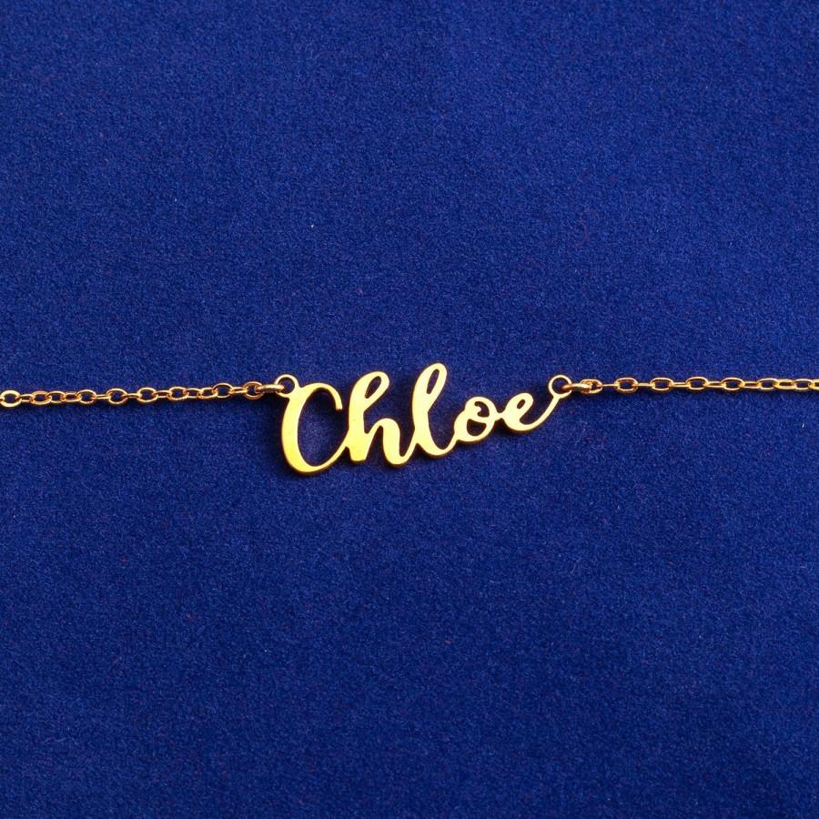 Wedding - Name Necklace