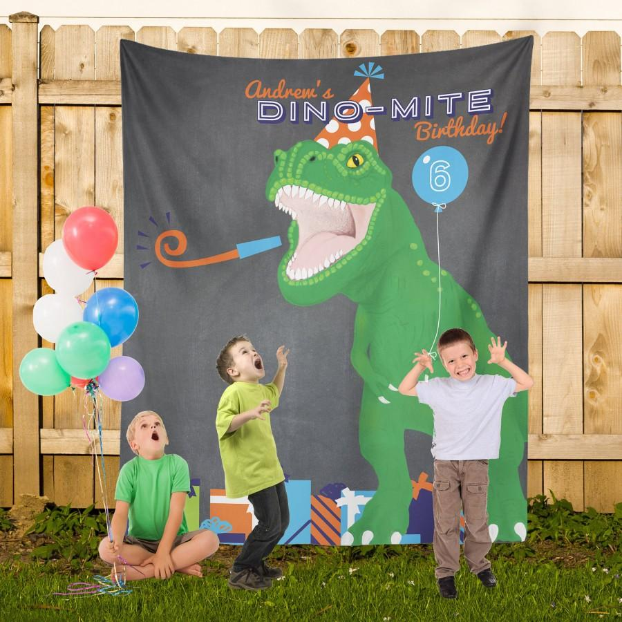 Свадьба - Dinosaur Birthday Party, Dino Party Banner, Dinosaur Party Decorations, Dinosaur Birthday Sign, Dino Bday Theme Ideas / N-T26-TP AA3