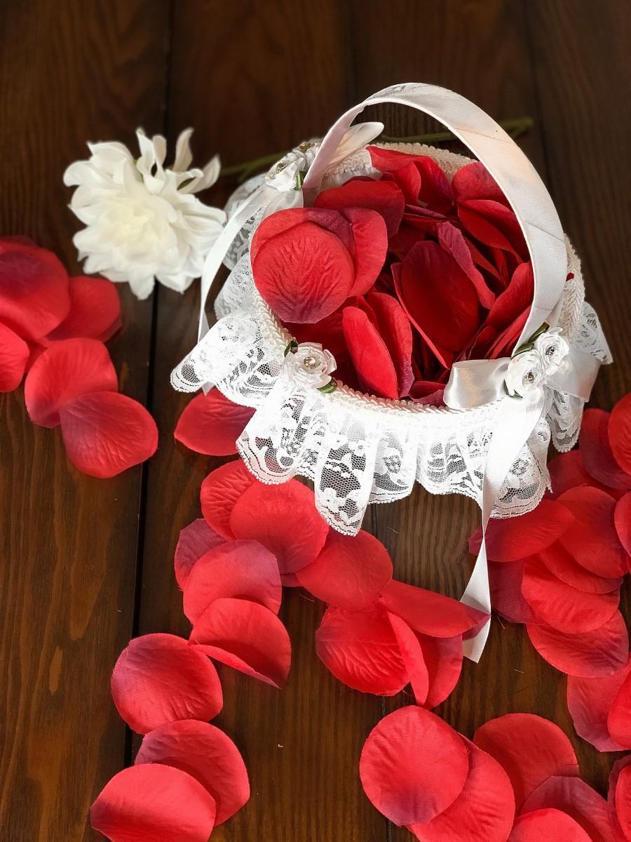 Mariage - Flower Girl Basket