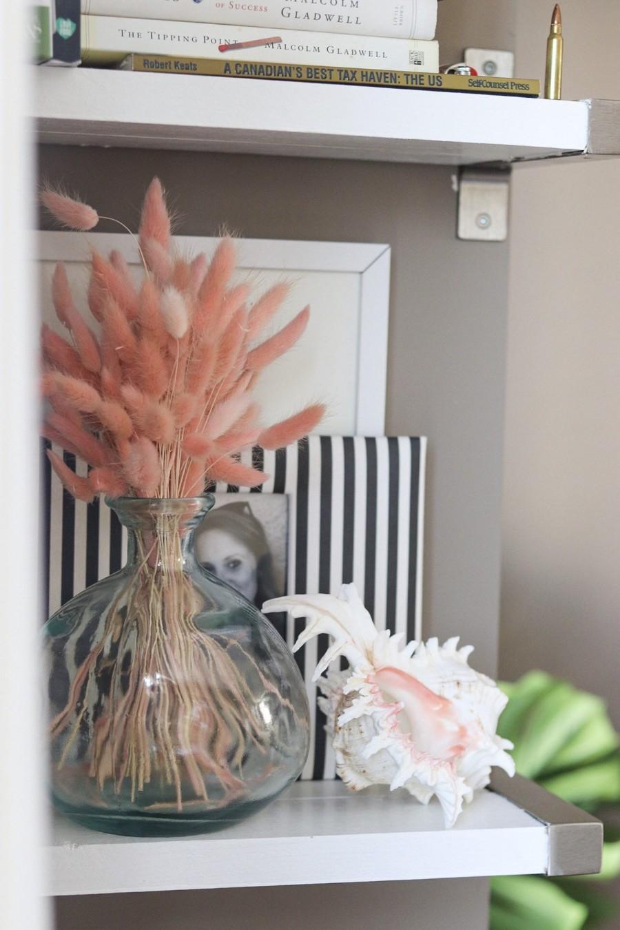 زفاف - BUNNY TAILS 60 pieces Pampas Grass  Pink -Dried Lagurus Home Decor Wedding Decor Bridal Bouquet Dried Floral Decor Bohemian Plant