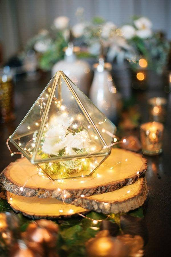 زفاف - Glass Geometric Terrarium/ Wedding Table Decor/ Succulent Planter/Air Plants Glass Vase/Terrarium Kit/ Terrarium Gift/ Terrarium Centerpiece