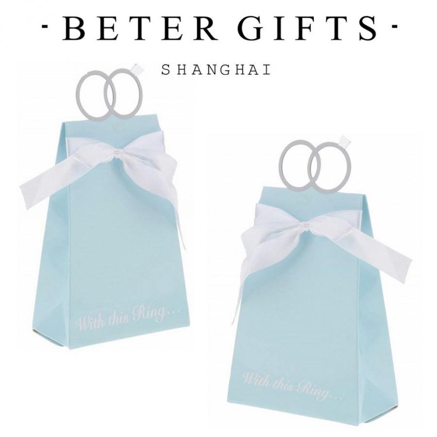 زفاف - #beterwedding 金婚喜糖盒子INS結婚用品童話婚禮喜糖禮盒包裝婚宴佈置TH021/B