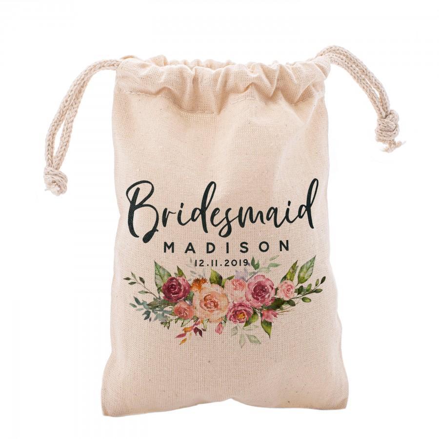 زفاف - Personalized Bridal Shower Pouch