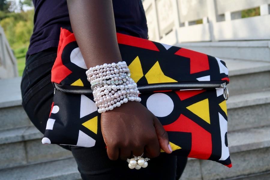 Wedding - Versatile Beautiful Clutch /Purse/Bag in Ankara/African Wax Print