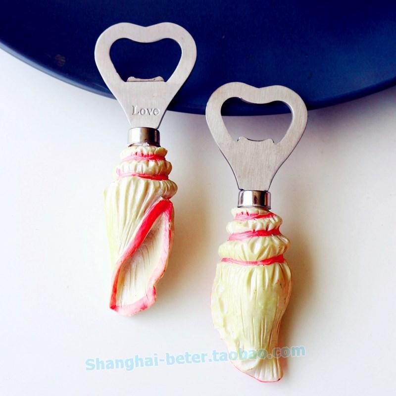 زفاف - #weddingfavors SeaShell Bottle Opener Favor Beach Wedding Bomboniere SZ013 #beterwedding