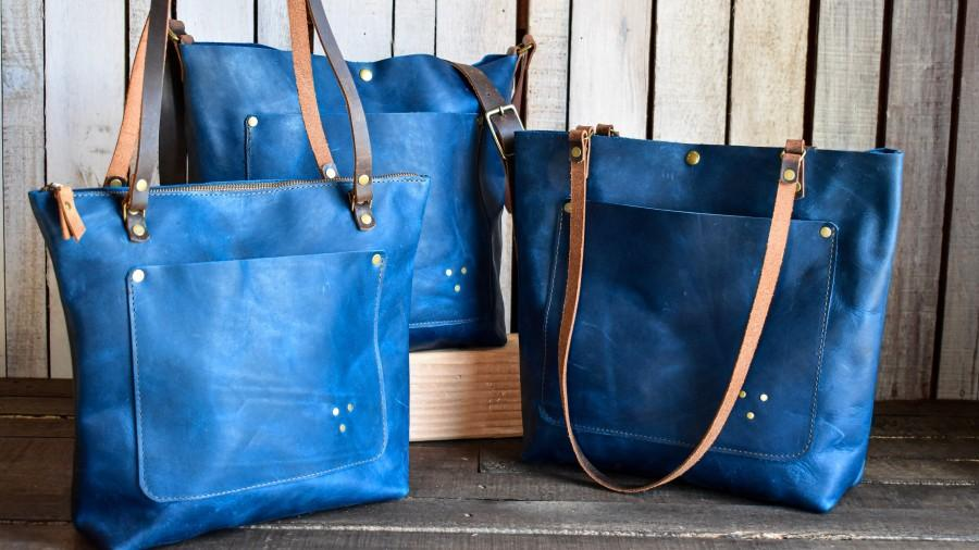 Mariage - Limited Edition Leather Tote Bag