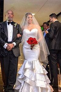 Свадьба - Bling Lovers Bridal Drop Veil Beaded with Rhinestones